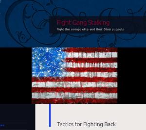Fight Gangs Stalking website logo