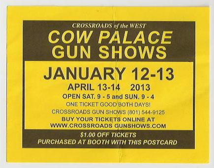 Gun Show flyer