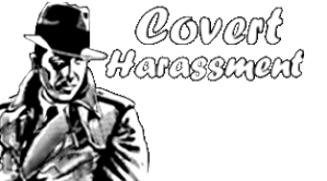 Covert Harassment logo H175XW660