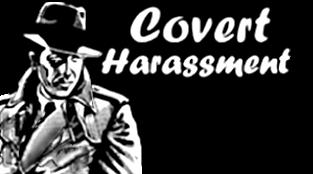 Covert Harassment logo H175XW660