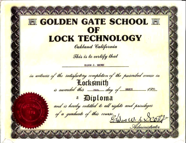 This was what it was all supposed to be for. Instead, I got a certificate of completion in adulthood.