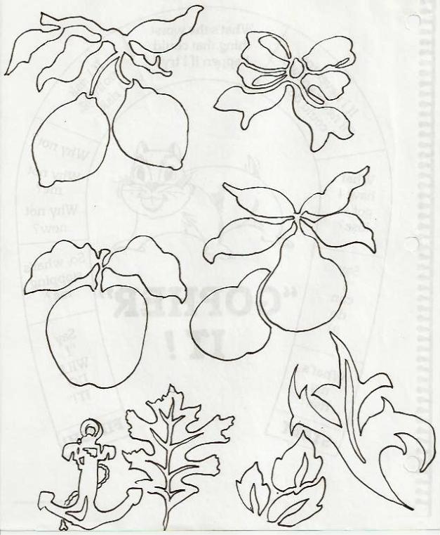 Practice line drawings.
