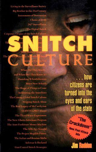 Snitch Culture book