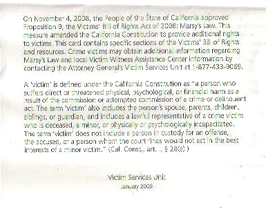 Victim's Bill Of Rights Act Of 2008 page 2
