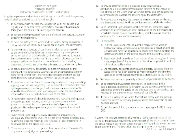 Victim's Bill Of Rights Act Of 2008 page 4