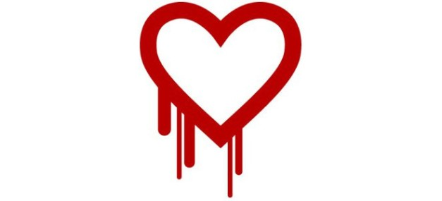 "Click the bleeding heart for an explanation of what ""Heartbleed"" is from GoDaddy"