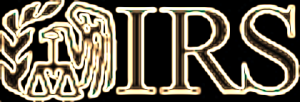 IRS logo black