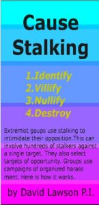 Cause Stalking by David Lawson