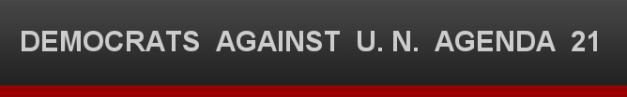 DEMOCRATS AGAINST U. N. AGENDA 21 site logo