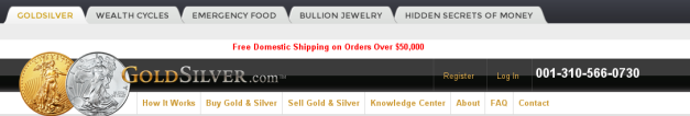 GoldSilver.com logo