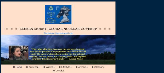Leuren Moret website logo