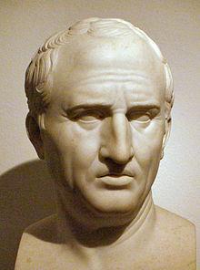 Marcus Tullius Cicero Roman Lawyer, Writer, Scholar, Orator and Statesman, 106 BC-43 BC)