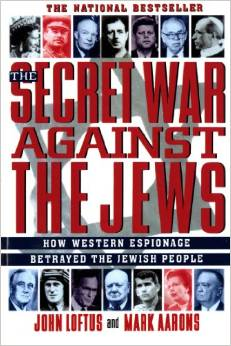 The Secret War Against The Jews book cover