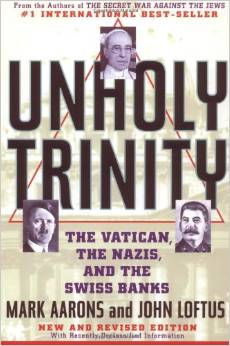 The Unholy Trinity book cover