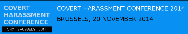 Covert Harassment Conference logo