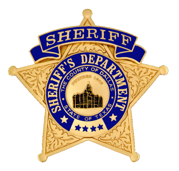 Dallas County Sheriff shield