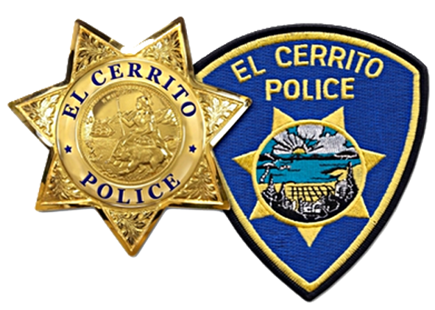 El Cerrito Police shield and patch