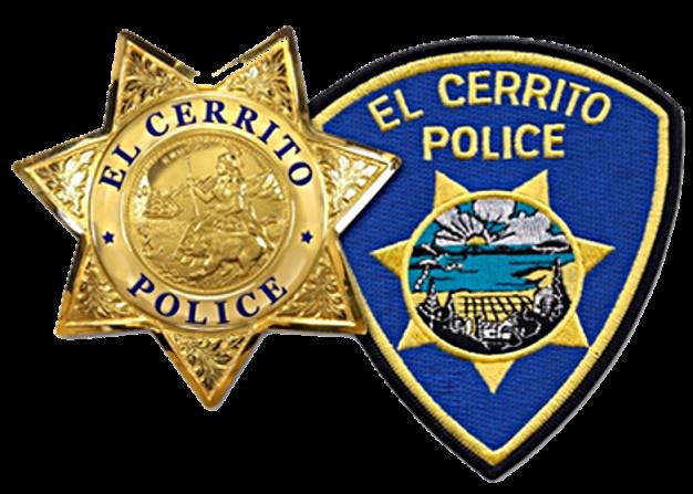 El Cerrito Police shield and patch