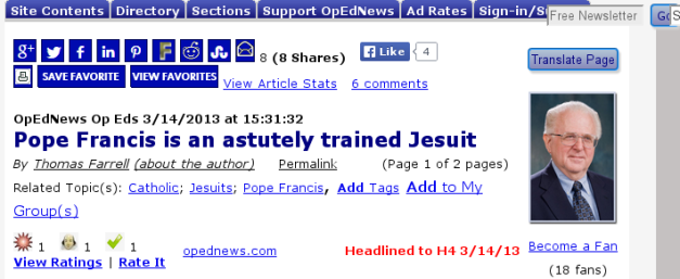 OpEdNews_Pope_Francis
