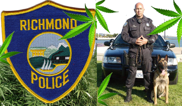 Richmond police patch Joe Avila