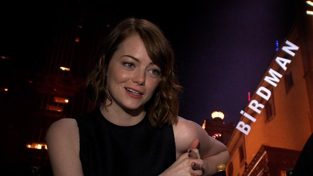 "Emma Stone in Birdman. Why are ""gingers"" so friggin smart and talented?"