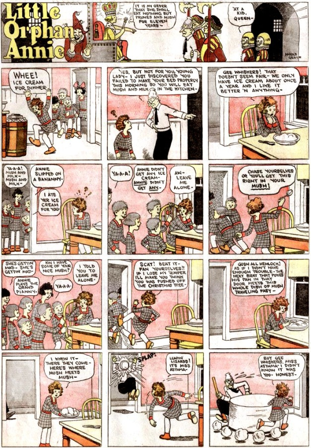 First Little Orphan Annie Sunday page (November 2, 1924)