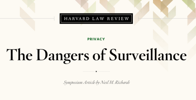 Harvard_Law_Review_dangers_of_surviellance_2014-11-10_133327