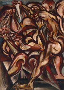 Artist: Jackson Pollock Start Date: 1938 Completion Date:1940 Style: Abstract Expressionism Period: Early works Genre: figurative painting Technique: oil Material: canvas Dimensions: 127 x 91.4 cm Gallery: Tate Britain, London, England, UK
