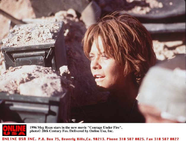 Meg Ryan in Courage Under Fire