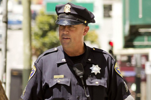 San Francisco police Sgt. Ian Furminger in the Tenderloin in 2012