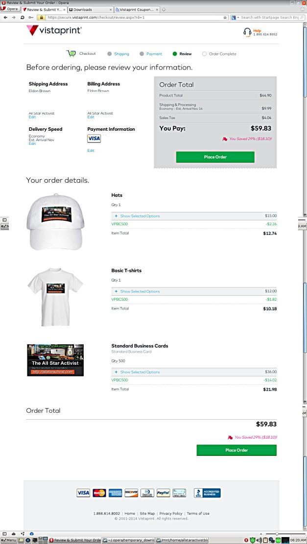 Vistaprint_oder_business_card_ballcap_&_T-Shirt_edited