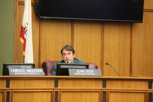 CCC supervisor John Gioia