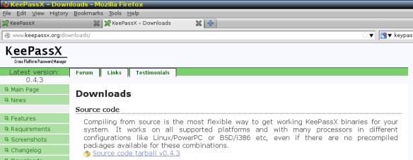 KeePassx Portable for Linux tutorial | All Star Activist