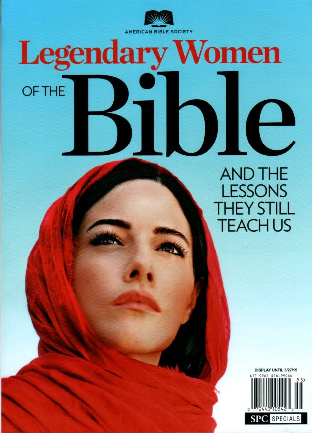 Legendary Women Of The Bible front cover.