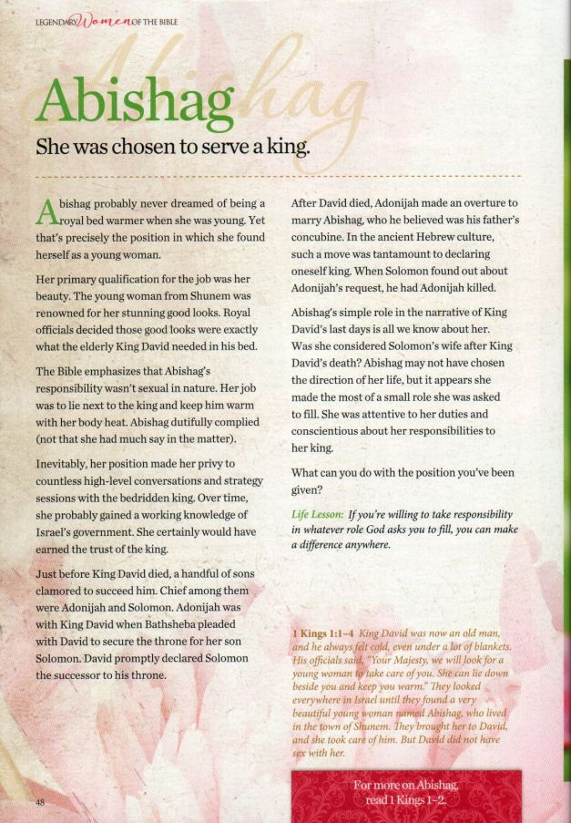 Legendary Women Of The Bible page 48