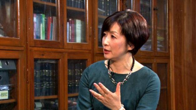 NHK Senior Commentator Aiko Doden.