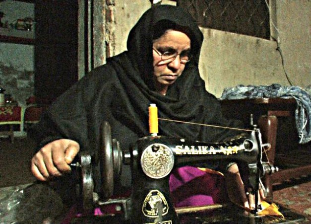 Zainab Bibi, successful graduate of the shelter now self employed.