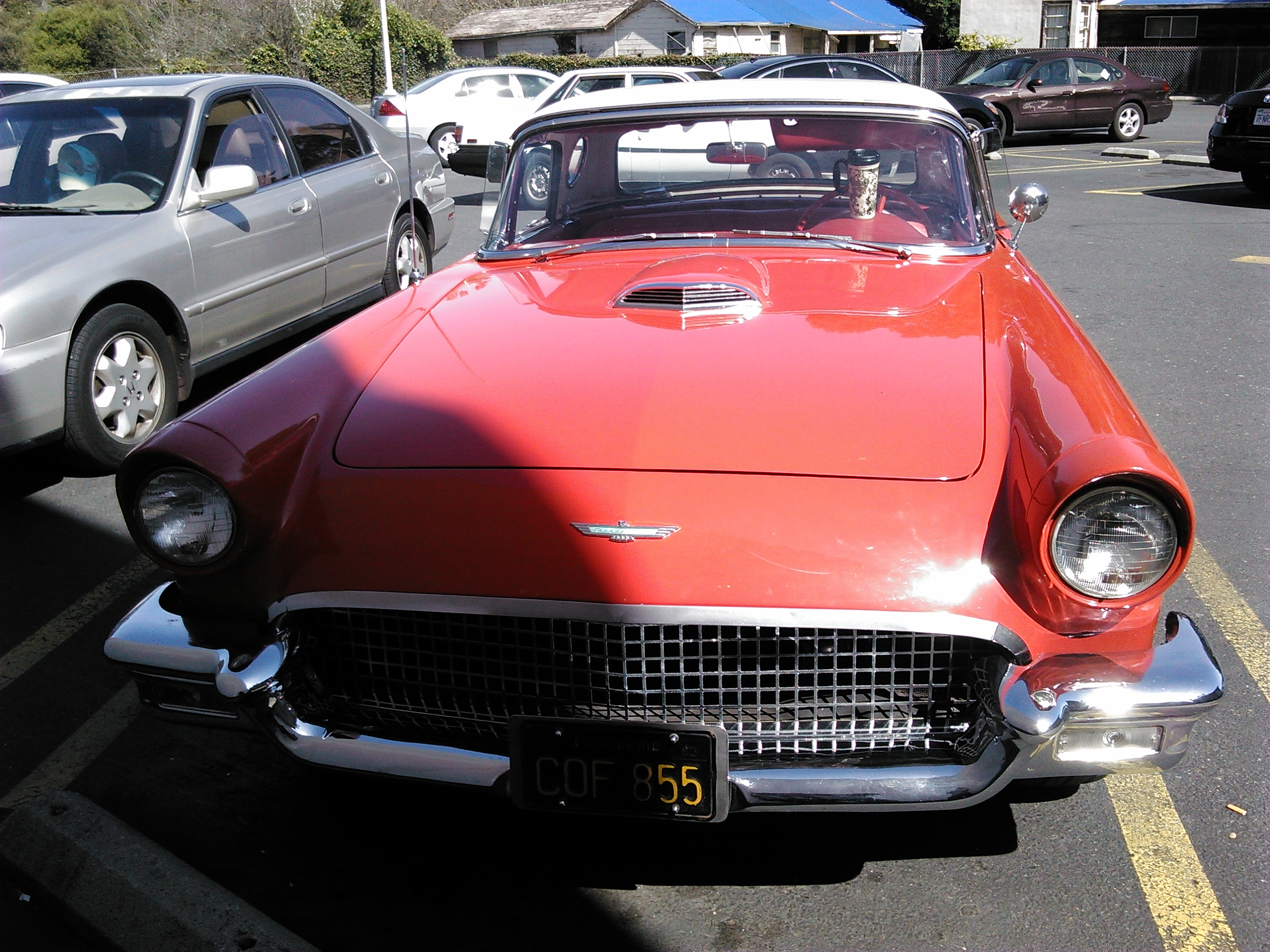 1957 Ford T Bird two door removable hardtop for sale