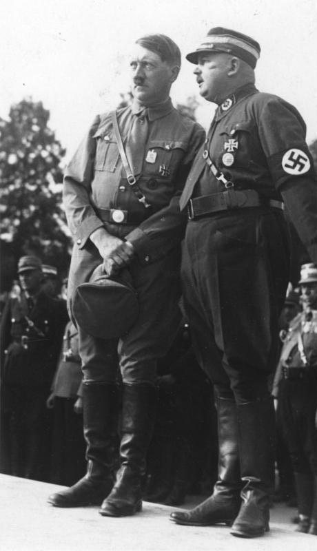 Nürnberg, Reichsparteitag, Hitler und Röhm