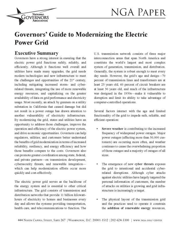 1403GovernorsGuideModernizingElectricPowerGrid-001
