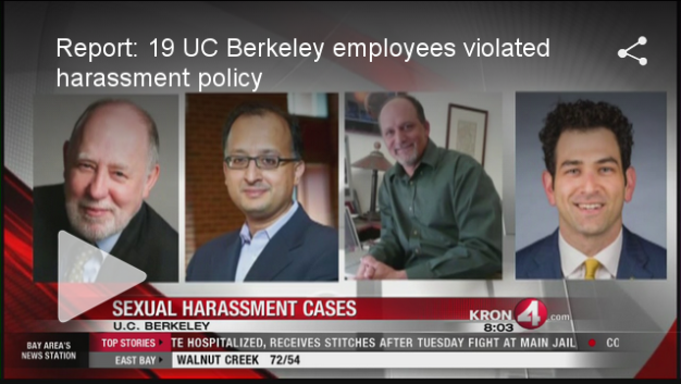UC Berkeley Sex Harassment